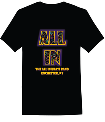The All In Brass Band T Shirt on Amazon