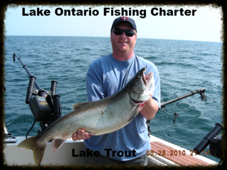 Lake ontario trout and salmon charters rochester ny for Lake ontario salmon fishing charters
