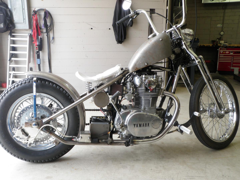1979 Yamaha XS650 bobber