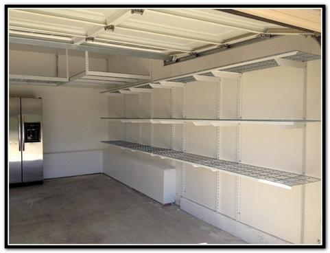 GARAGE WALL SHELF INSTALLATION SERVICES