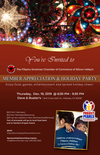 Filipino American Chamber Holiday Party