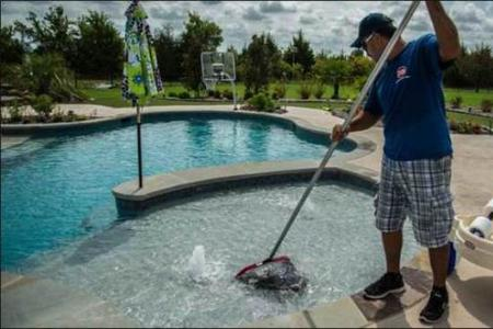 How Much Does A Professional Charge For Pool Cleaning Service? Swimming Pool Cleaning Cost Pool Cleaning Service Price in Las Vegas - McCarran Handyman Services