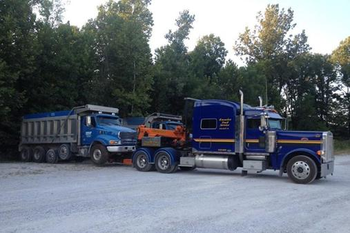 TRACTOR TRAILER TOWING SERVICE