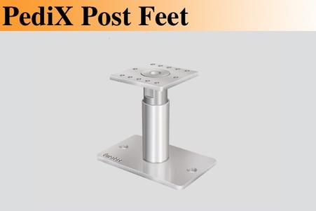 PediX Post Feet Adjustable Post Support European Technical Approvals