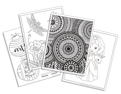 free coloring pages, downloads