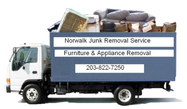 junk & furniture removal truck