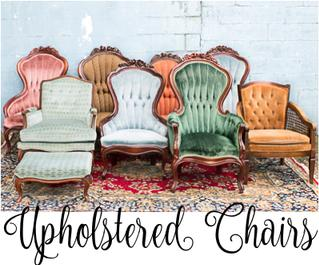 Upholstered Chairs for Rent