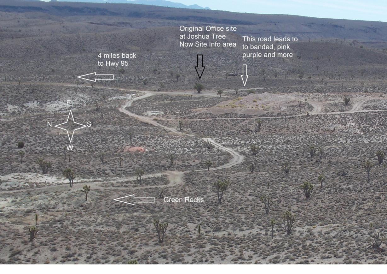 Gemfield Gems Chalcedony - rock hounding site, chalcedony