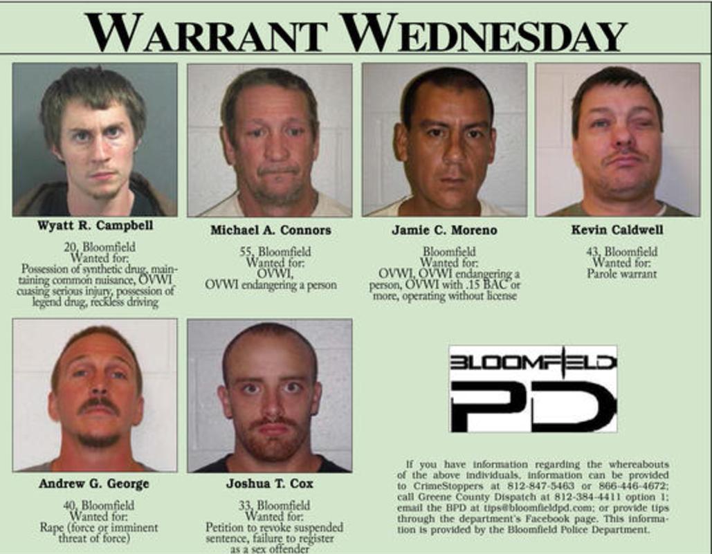 Warrant Wednesday