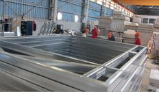 Manufacturing the quick steel house