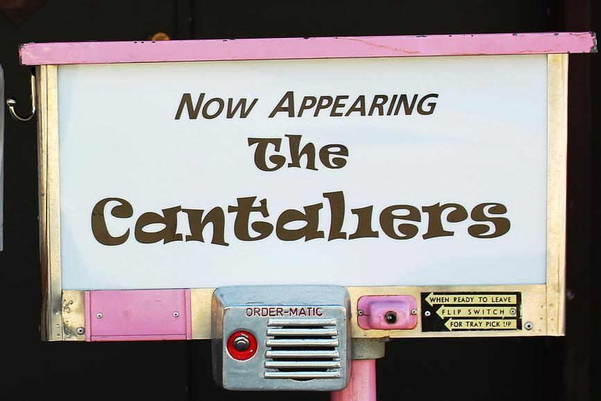 Now Appearing The Cantaliers