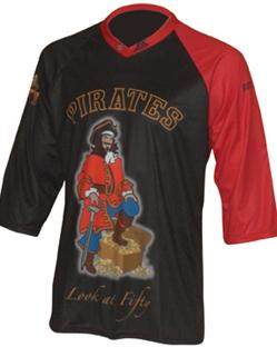 pirate downhill cycling jersey