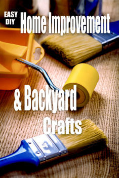 DIY easy Backyard crafts and projects. A complete assortment of unique easy DIY projects. www.DIYeasycrafts.com