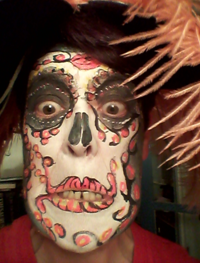 Halloween Face-paint