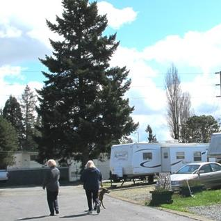 Midway RV Park Neighborhood