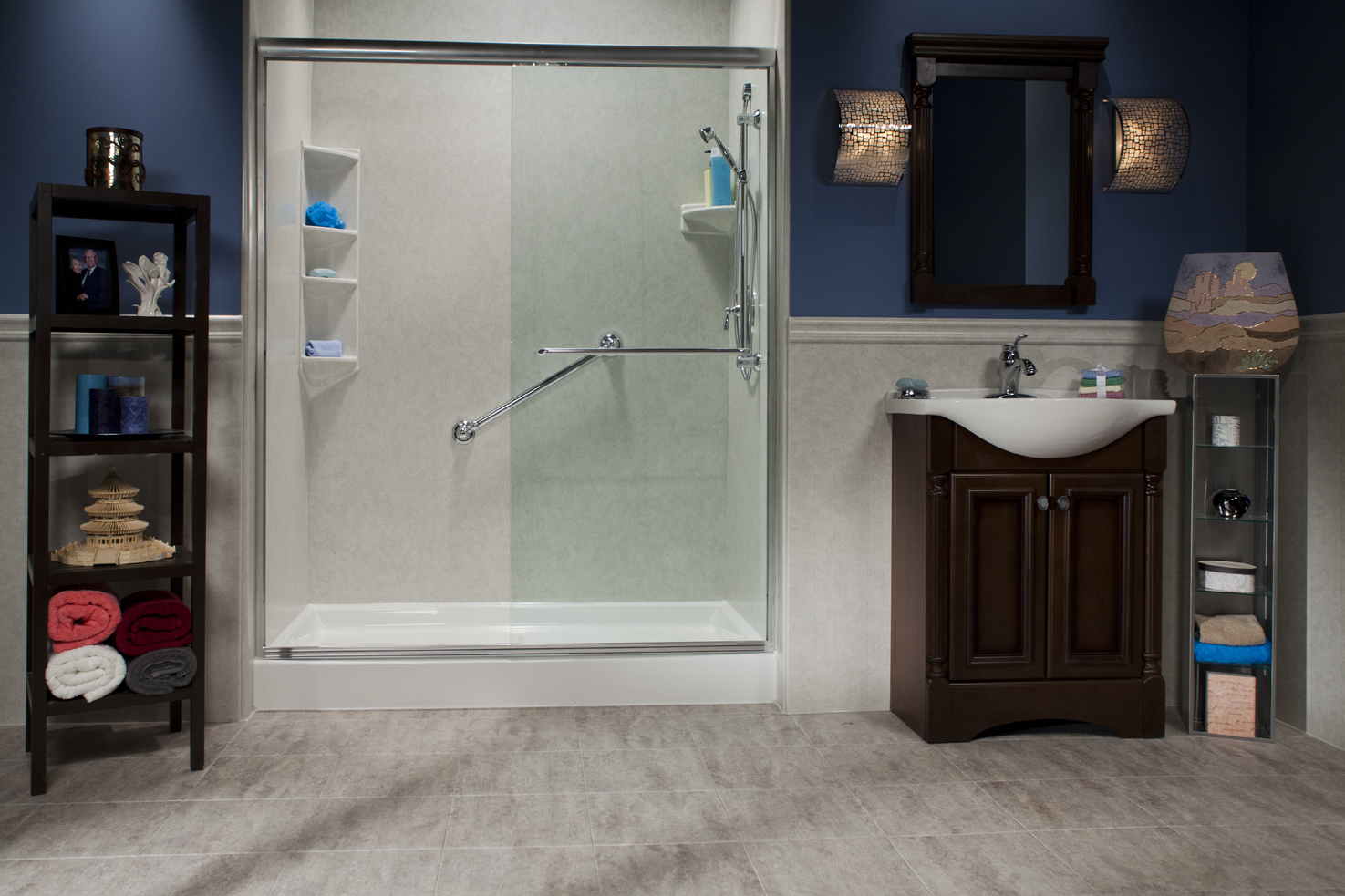 Tub and tile reglazing acrylic liners premier refinishing inc premier will brighten your shower area with a professional regrouting using top quality materials vtopaller Image collections