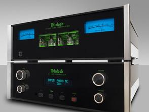 McIntosh tube preamplifier, amplifiers, receivers, turntables, electronics, speakers