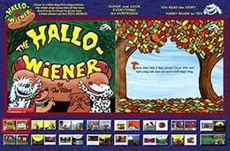 Play the Flash Storybook Halloweiner Game