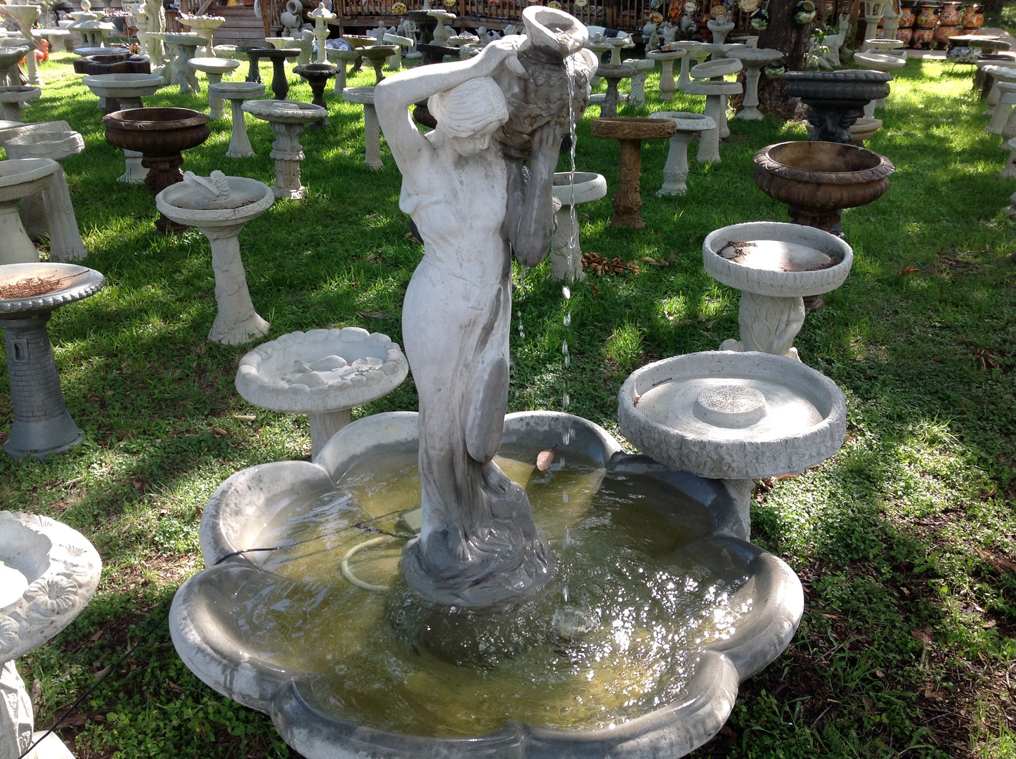 1 Concrete And Mexican Cantera Stone Water Fountains San Antonio Texas