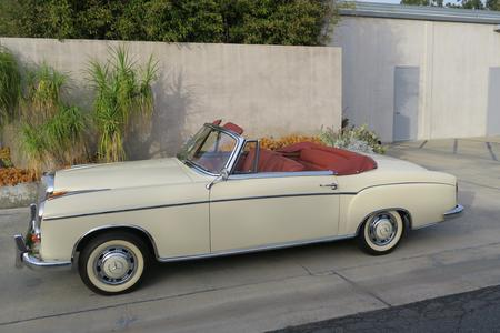 1960 Mercedes-Benz 220 SE Cabriolet for sale at Motor Car Company in San Diego California