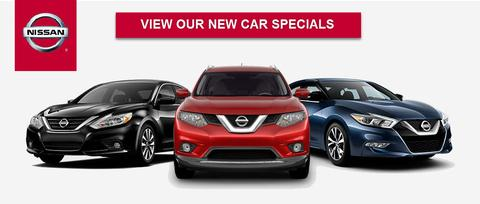 View Our New Nissan Specials
