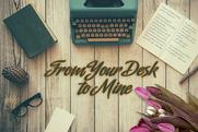 Hayley Beck: From your desk to mine