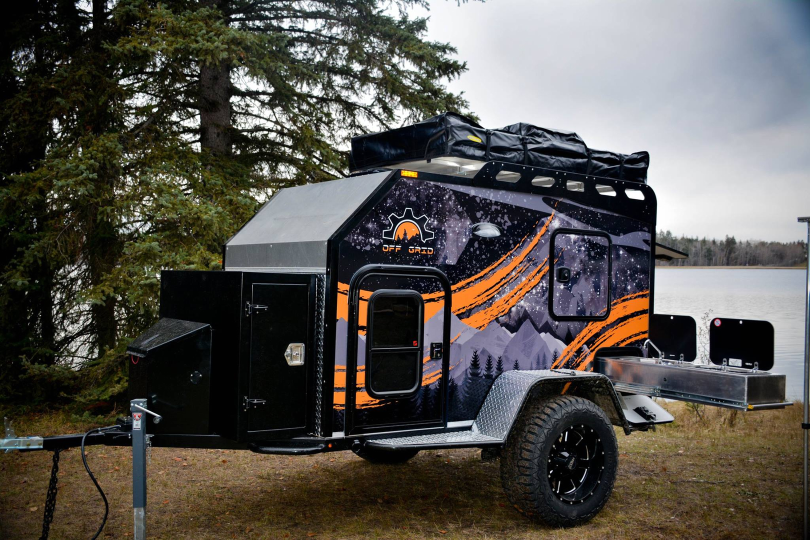 I Design And Fabricate Small Off Road Expedition Style Trailers Fully Spray Foam Insulated The Options Are Endless