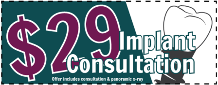 dental implant consult coupon