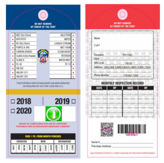 NEW FDNY RULES ON TAGS & DECALS 3 RCNY 115-02