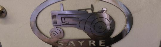 Bronze Metal Wall Art - Sayre