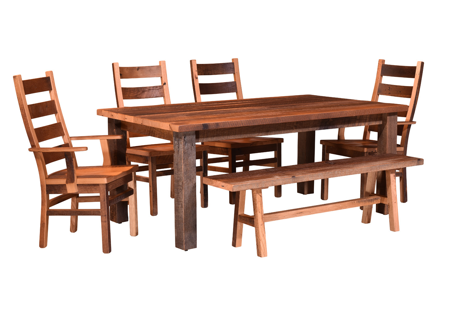 Wood Dining Table Fashionable Pedestal