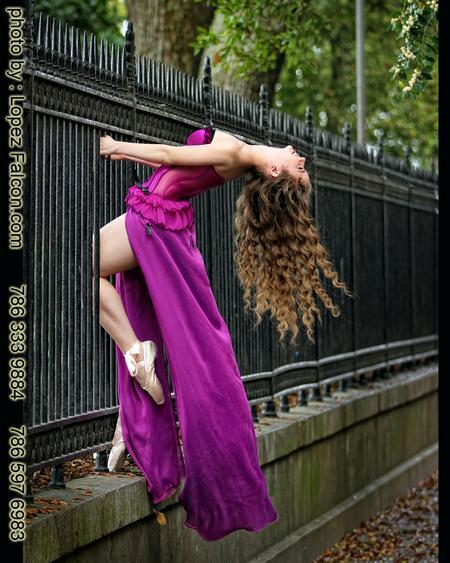 Quinceanera Ballet Photography Miami Quince Ballerina