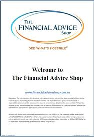 Financial Advice Canberra