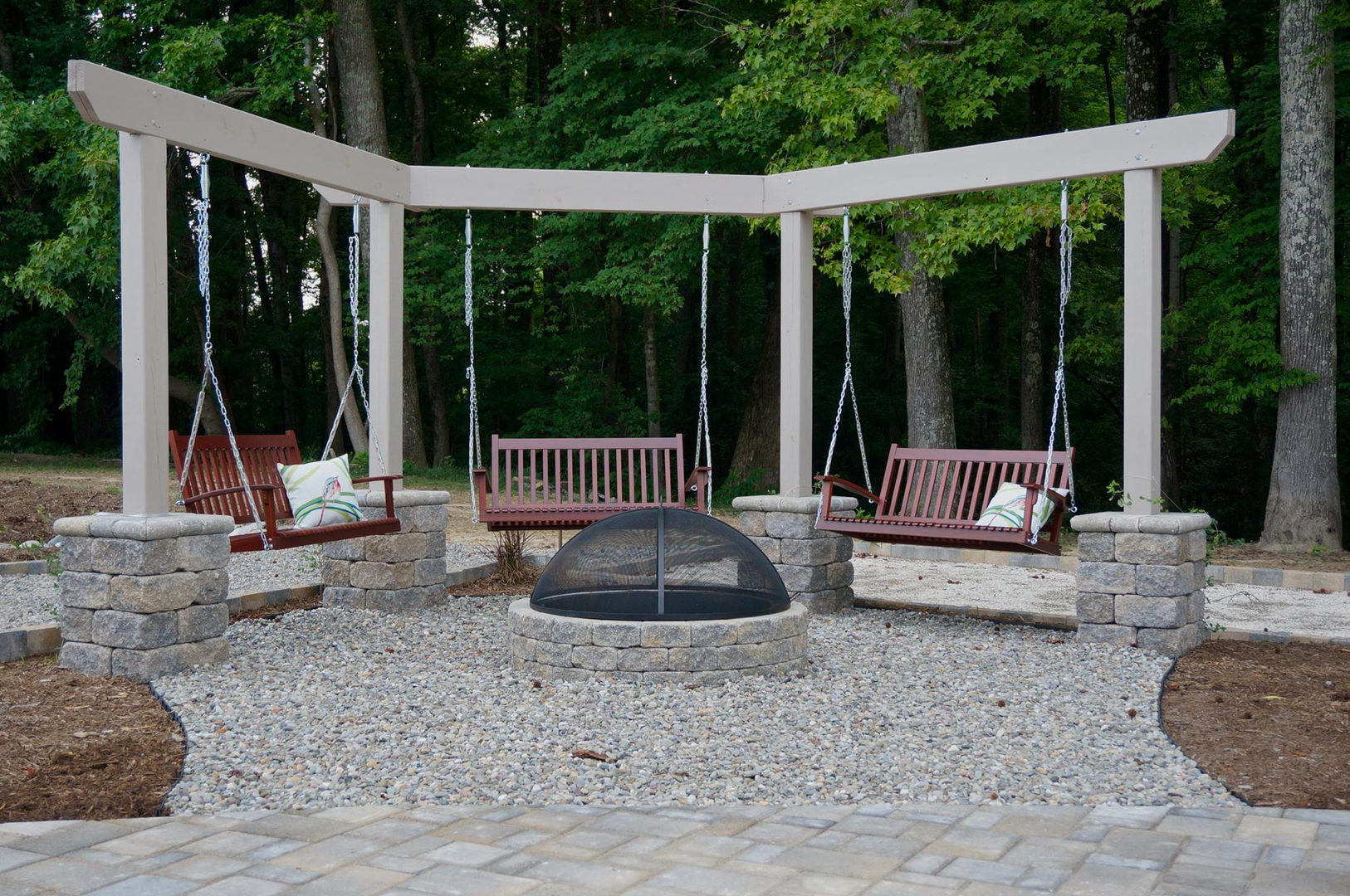 lakescapes and designs in clarksville va services