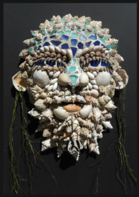 Mosaic Mask, Sculpture by Savanna Redman