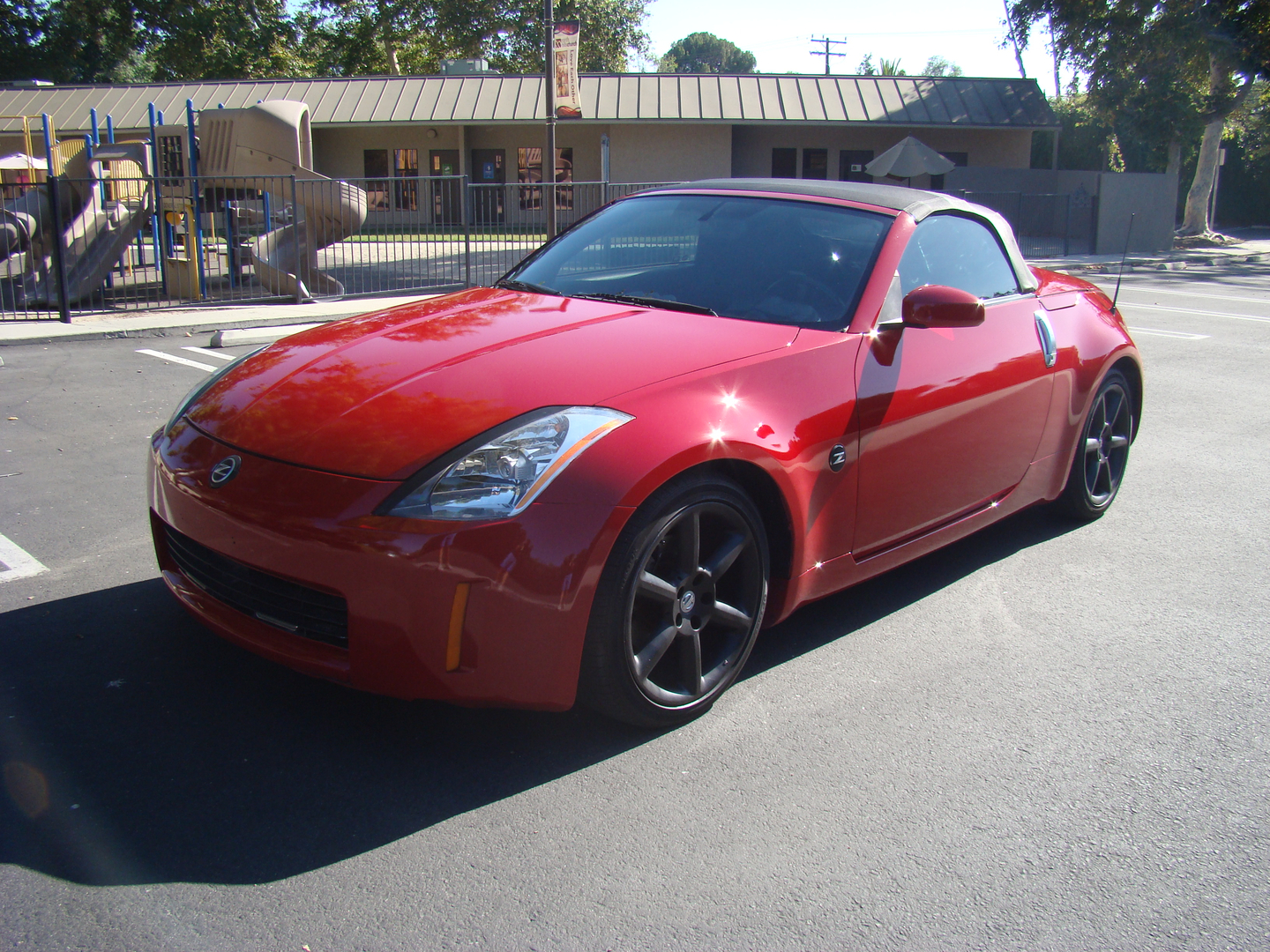 2005 nissan 350z red roadster 751493 vehicle details year 2005 sciox Image collections