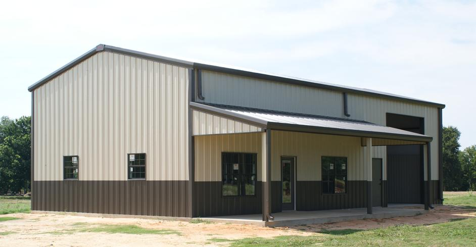 Metal buildings oklahoma steel buildings oswell Building a house in oklahoma