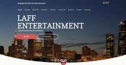 LAFF Entertainment Homepage