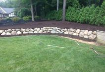 Boulder retaining wall clarkston mi