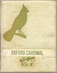 1961 Oxford Cardinals Yearbook