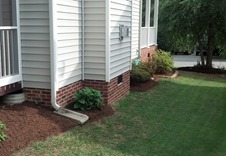 Apex NC mulch and lawn mowing