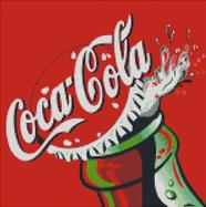 Cross Stitch Chart Pattern of Coca Cola 1999 Artwork
