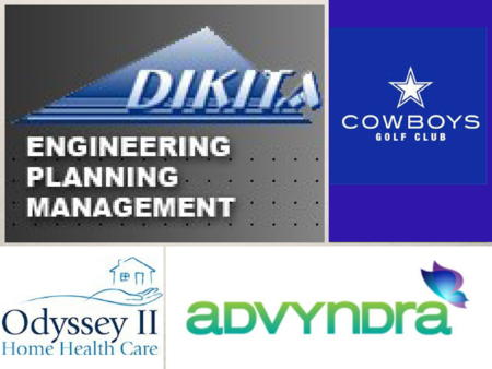 Dikita, Cowboys Golf Club, Odyssey Home Health Care, Advyndra