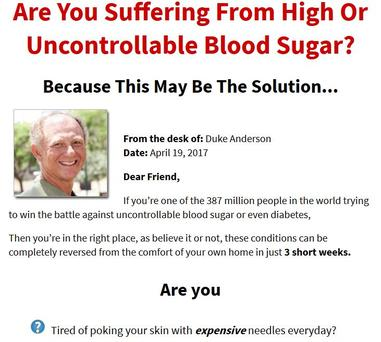 Are you Suffering From High or Uncontrollable Blood Sugar?