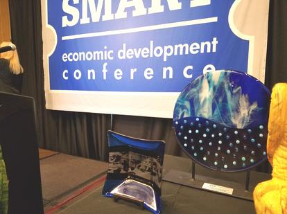 SBA Awards shown at the 2018 SMART Conference