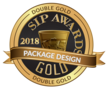 Double Gold Winner 2018- SIP Awards - Package Design