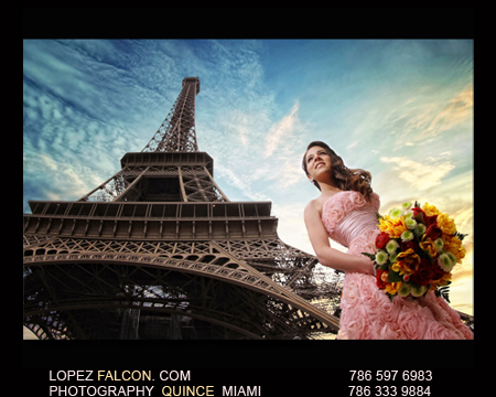 6c42c62009 Sweet 15 Quinceanera Photo Shoot   A Night in Paris by Lopez Falcon Quince  Photo Studio Miami