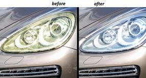 Headlight Polishing Repair