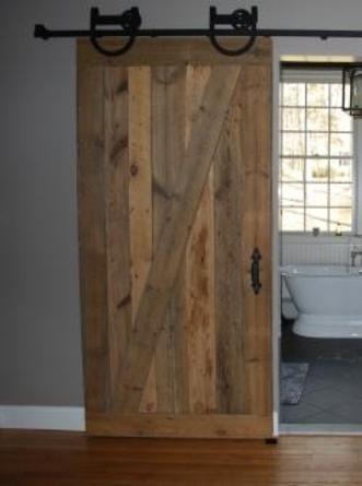 Rustic Sliding Barn Door - Reclaimed Barn Doors for Sale