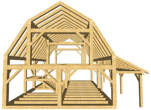 Timber Frame Cabins